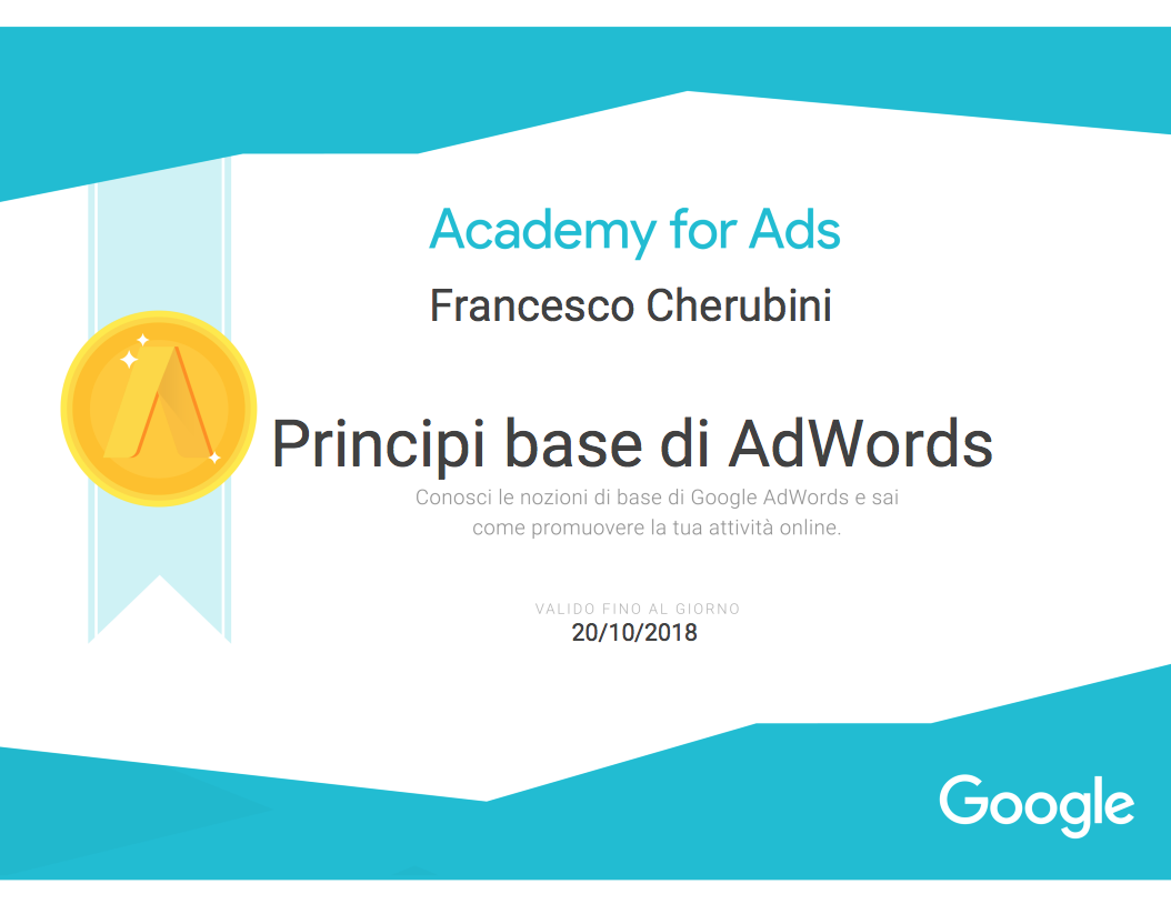 Principi base di AdWords